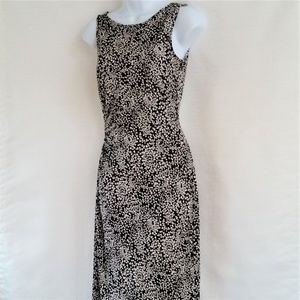DVF Black and White Sleeveless Rene Dress 2